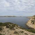 Calanque des Queyrons, île de Jarre