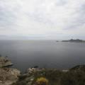 Île de Riou et île Plane dans la remontée au dessus de la calanque de Cortiou