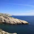 Calanque de Podestat et son éboulement, Grande Candelle, Cap Morgiou, Cap Canaille, Bec de l'Aigle, îles des Embiez