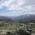 Vallon du Manganello vu du refuge de Petra Piana