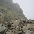 Bocca a le Porte - Brèche de Capitello (2220 m) sous la brume