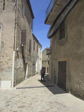Les ruelles de Calenzana