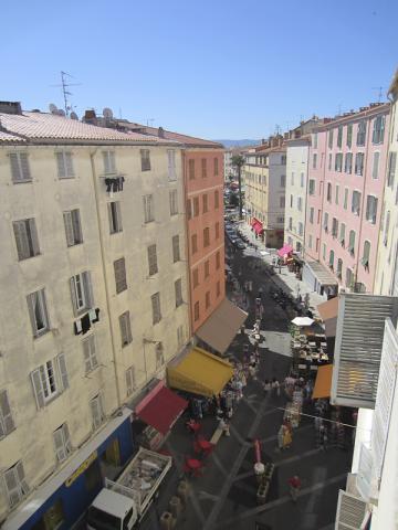 Rue du Cardinal Fesch à Ajaccio
