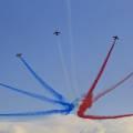 Patrouille de France - Éclatement final