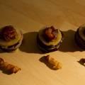 Les compressions et les croustillants de pomme de terre