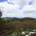 Puy des gouttes (1134 m), Puy Chopine (1181 m), Puy de Louchadière (1199 m), Puy de Clermont (1068 m), Puy de la Coquille (1153 m), Puy de Jume (1163 m), Puy de Chaumont (1108 m) et Puy des Goules (1146 m)
