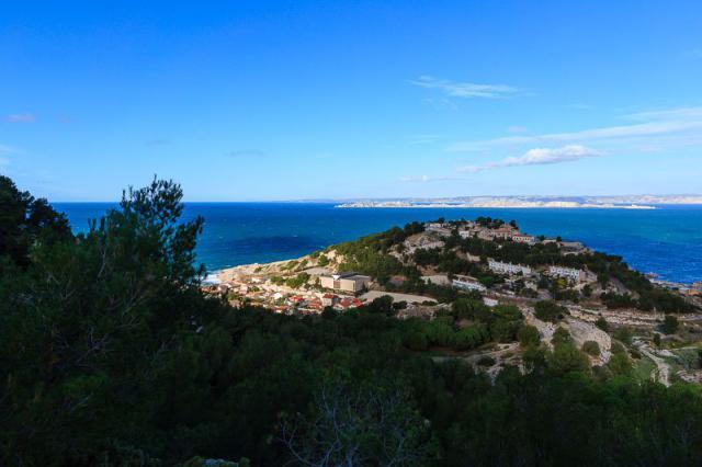 Calanque de Samena, Mont Rose et Iles du Frioul