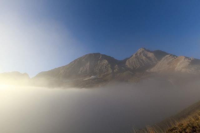 Pic des Gabietous (3034 m) et Taillon (3144 m)