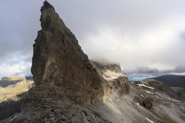 Passage de la brèche de Rolland (2807 m)
