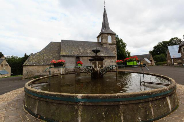 La Godivelle : église St-Blaise
