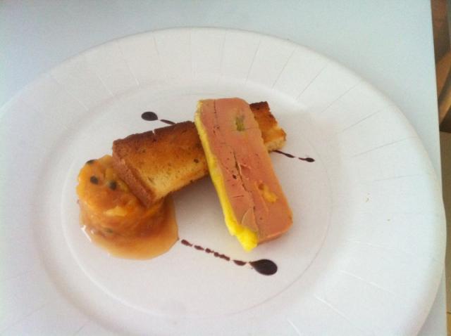 Terrine foie gras chutney exotique pain de mie brioché aux épices - Version gastronomique