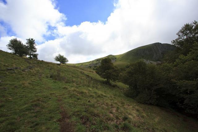 Montée vers le Puy Gros (1485 m)