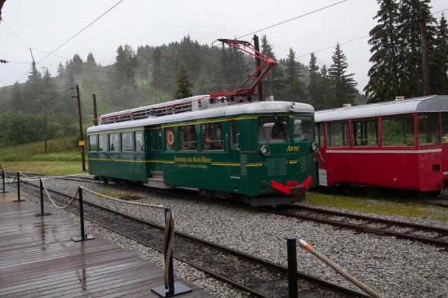 Anne - Une des trois motrices du Tramway du Mont-Blanc